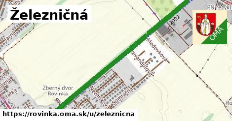 ilustrácia k Železničná, Rovinka - 657m