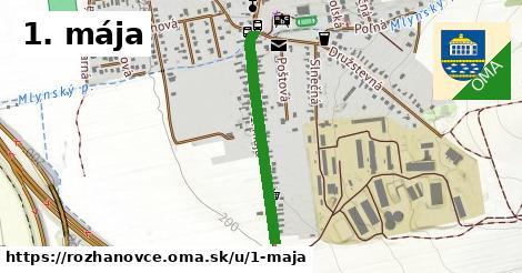 ilustrácia k 1. mája, Rozhanovce - 610m