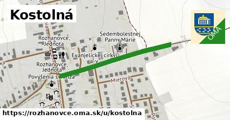ilustrácia k Kostolná, Rozhanovce - 374m