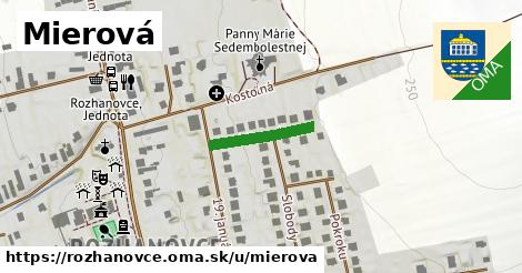 ilustrácia k Mierová, Rozhanovce - 167m