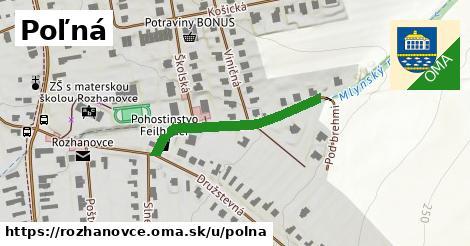 ilustrácia k Poľná, Rozhanovce - 288m