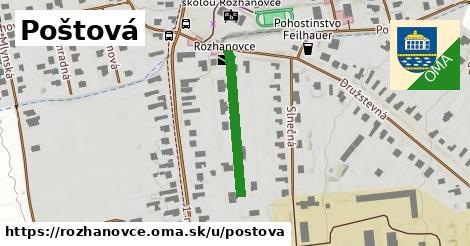 ilustrácia k Poštová, Rozhanovce - 222m