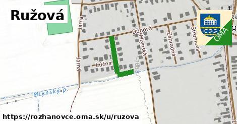 ilustrácia k Rúžová, Rozhanovce - 138m