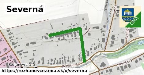 ilustrácia k Severná, Rozhanovce - 343m
