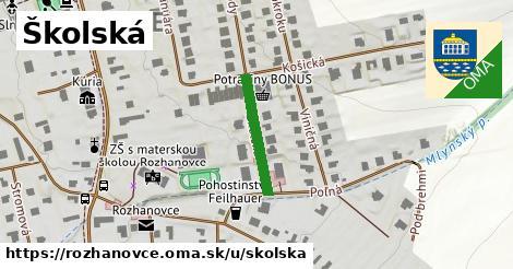 ilustrácia k Školská, Rozhanovce - 176m