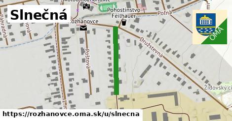 ilustrácia k Slnečná, Rozhanovce - 217m