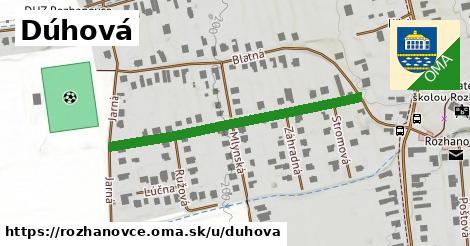 ilustrácia k Dúhová, Rozhanovce - 408m