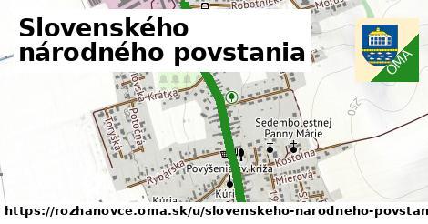 ilustrácia k Slovenského národného povstania, Rozhanovce - 1,29km