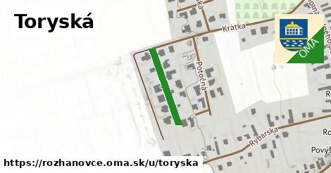 ilustrácia k Toryská, Rozhanovce - 180m