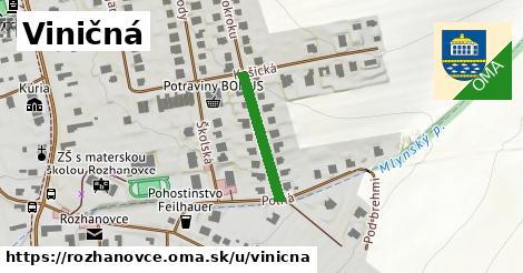 ilustrácia k Viničná, Rozhanovce - 188m