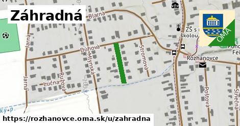 ilustrácia k Záhradná, Rozhanovce - 126m