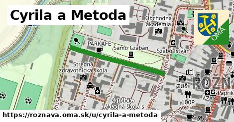 ilustrácia k Cyrila a Metoda, Rožňava - 311m