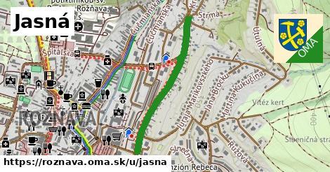 ilustrácia k Jasná, Rožňava - 458m