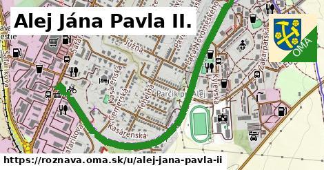 ilustrácia k Alej Jána Pavla II., Rožňava - 1,56km