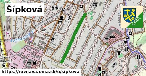 ilustrácia k Šípková, Rožňava - 565m