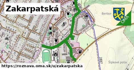 ilustračný obrázok k Zakarpatská, Rožňava