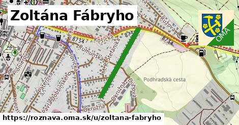 ilustrácia k Zoltána Fábryho, Rožňava - 505m