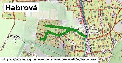 ilustrácia k Habrová, Rožnov pod Radhoštěm - 503m