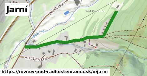 ilustrácia k Jarní, Rožnov pod Radhoštěm - 541m