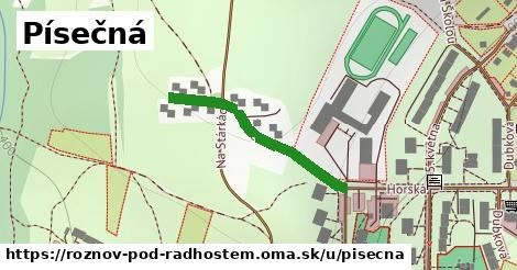 ilustrácia k Písečná, Rožnov pod Radhoštěm - 78m