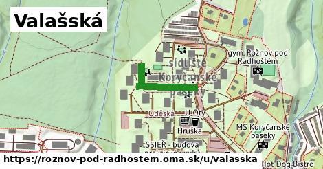 ilustrácia k Valašská, Rožnov pod Radhoštěm - 190m