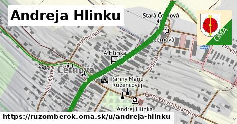 ilustrácia k Andreja Hlinku, Ružomberok - 530m