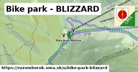 ilustrácia k Bike park - BLIZZARD, Ružomberok - 1,73km