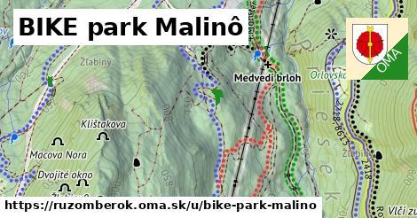 ilustračný obrázok k BIKE park Malinô, Ružomberok