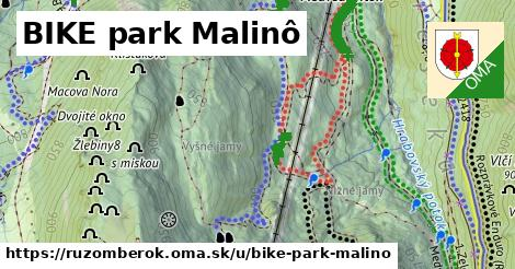 ilustrácia k BIKE park Malinô, Ružomberok - 8,7km