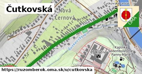 ilustrácia k Čutkovská, Ružomberok - 615m