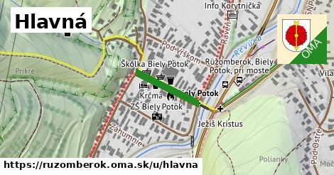 ilustrácia k Hlavná, Ružomberok - 153m