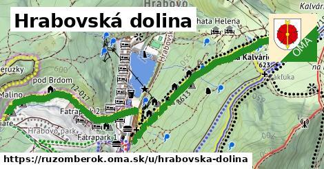 ilustrácia k Hrabovská dolina, Ružomberok - 3,1km