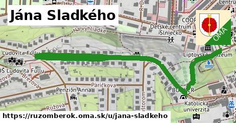 ilustračný obrázok k Jána Sladkého, Ružomberok