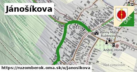 ilustrácia k Jánošíkova, Ružomberok - 379m