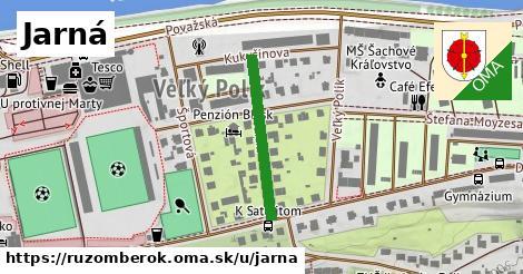 ilustrácia k Jarná, Ružomberok - 234m