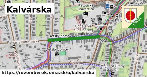 ilustrácia k Kalvárska, Ružomberok - 259m