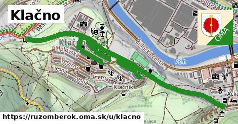ilustrácia k Klačno, Ružomberok - 2,00km