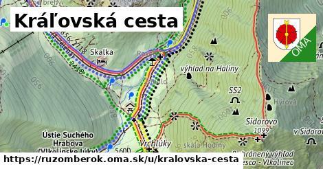 ilustrácia k Kráľovská cesta, Ružomberok - 1,73km