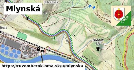 ilustrácia k Mlynská, Ružomberok - 1,14km