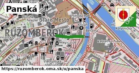 ilustrácia k Panská, Ružomberok - 150m