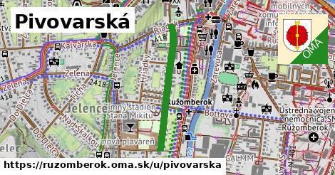 ilustrácia k Pivovarská, Ružomberok - 561m