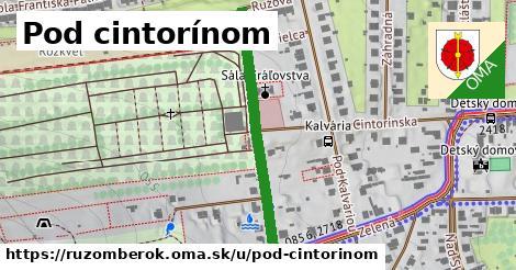 ilustrácia k Pod cintorínom, Ružomberok - 365m