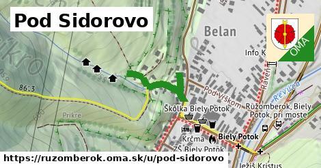 ilustračný obrázok k Pod Sidorovo, Ružomberok