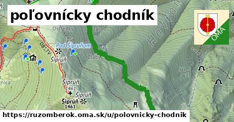 ilustrácia k poľovnícky chodník, Ružomberok - 2,6km