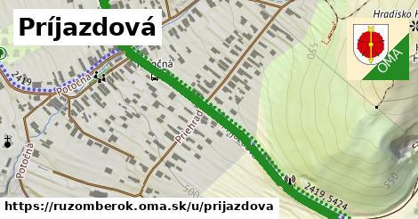 ilustrácia k Príjazdová, Ružomberok - 0,70km