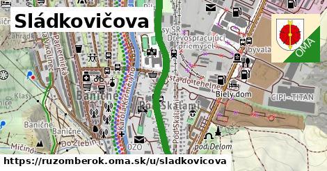ilustrácia k Sládkovičova, Ružomberok - 0,92km