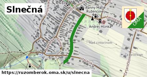 ilustrácia k Slnečná, Ružomberok - 273m
