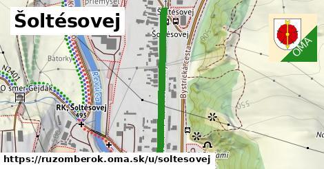 ilustrácia k Šoltésovej, Ružomberok - 348m