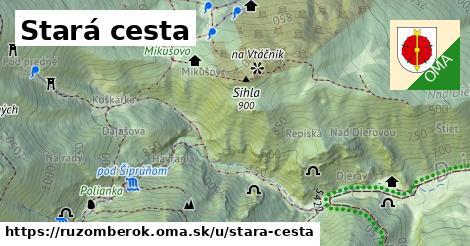 ilustrácia k Stará cesta, Ružomberok - 0,89km
