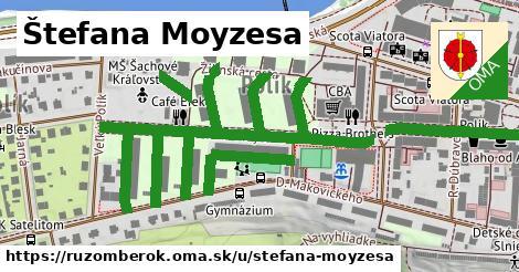 ilustrácia k Štefana Moyzesa, Ružomberok - 1,45km